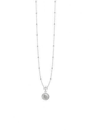 Ciondolo Agios Medjugorie Medaglia Silver AGI209/PE