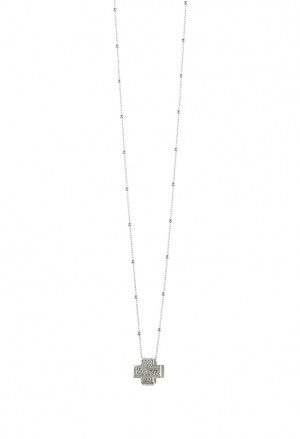Collana Agios Pater Croce Picoola Silver AGI111/C-A
