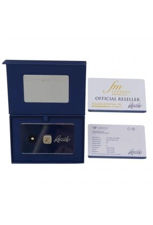 Diamante Recarlo Da Investimento Caratura 0.15 New Colore F Purezza IF Certificato Taglio Brillante QCHUZFM