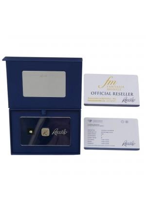 Diamante Recarlo Da Investimento Caratura 0.20 Colore F Purezza IF Taglio Brillante Certificato OAGGFFM