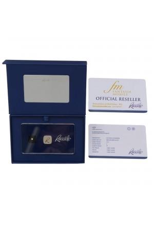 Diamante Recarlo Da Investimento Caratura 0.03 New Colore F Purezza IF Certificato Taglio Brillante HAW23FM