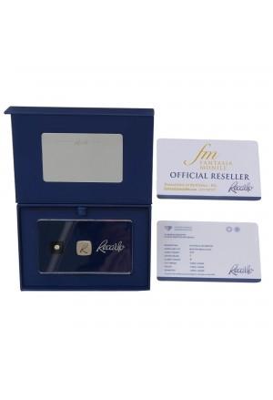 Diamante Recarlo Da Investimento Caratura 0.25 New Colore F Purezza IF Certificato Taglio Brillante D38DOFM