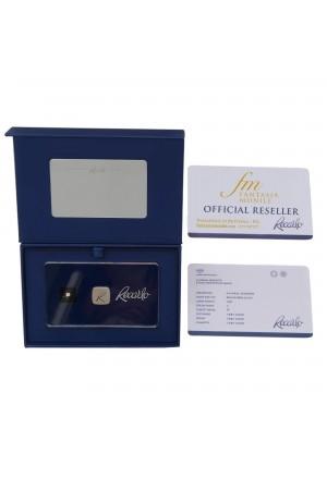 Diamante Recarlo Da Investimento Caratura 0.07 New Colore F Purezza IF Certificato Taglio Brillante G45K3FM