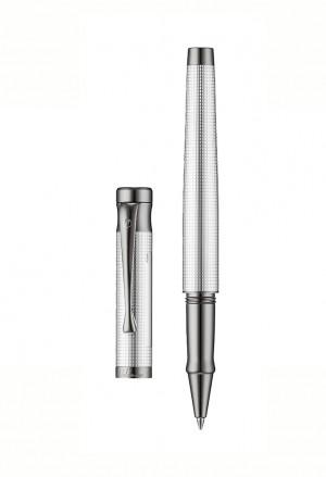 Penna Roller Sfera Argento Rutenio Incisione Personalizzata Tango Waldmann 4682