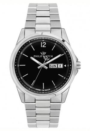 Orologio Philip Watch Uomo CapeTown Acciaio Nero R8253212003