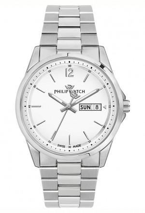 Orologio Philip Watch Uomo CapeTown Acciaio Bianco R8253212002