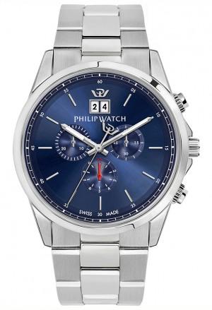 Orologio Philip Watch Donna CapeTown Chrono Acciaio Blu R8273612002