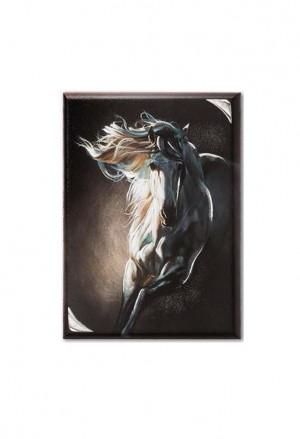 Quadro Acca Cavallo Argento QD.575 17X24