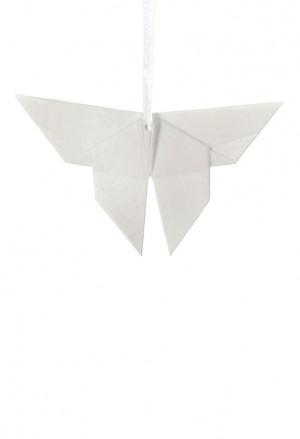 Origami Farfalla Porcellana Bianca L'Abitare Milano 16020038