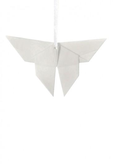 Origami Tridimensionale Farfalla Porcellana Bianca L'Abitare Milano 16020038