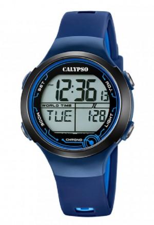 Orologio Calypso Digitale Blu K5799/5