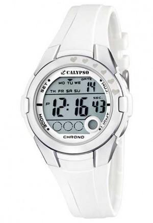 Orologio Calypso Digitale Donna Bianco K5571/1