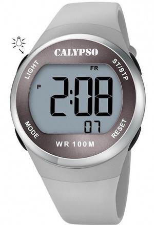 Orologio Calypso Digitale Grigio K5786/1