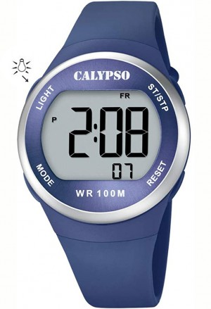 Orologio Calypso Digitale Blu K5786/3