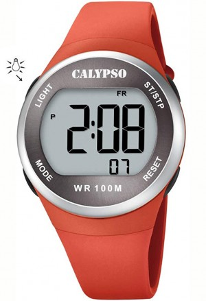 Orologio Calypso Digitale Arancione K5786/2
