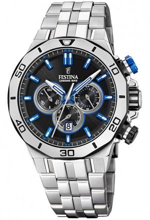 Orologio Festina Uomo Pulsante Blu Limited Edition F20448/5