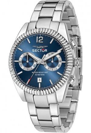 Orologio Sector Uomo Chrono Blu R3253240006