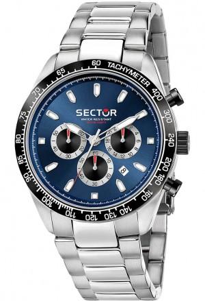 Orologio Sector Uomo 245 Chrono Blu R3273786014