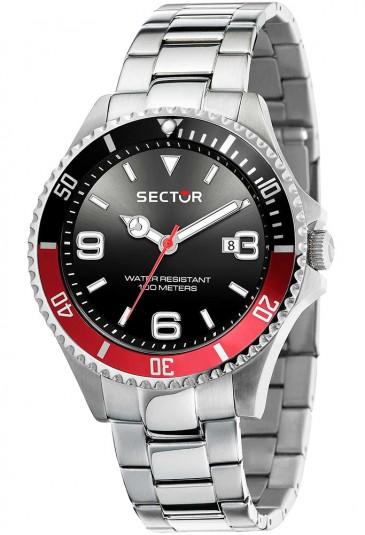 Orologio Sector Uomo Nero Rosso Solo Tempo R3253161021