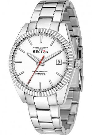 Orologio Sector Uomo Bianco Solo Tempo R3253240012