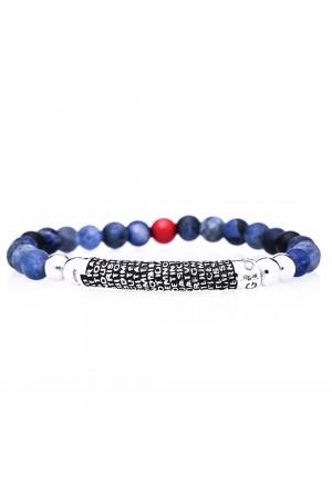 Bracciale Agios Pietre Blu Silver Brunito AGI251/B-AB-B