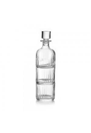 Set Bottiglia + Bicchieri Impilabili Degustazione Vetro Regalo Acca V.439.4