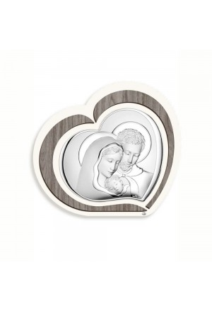 Quadro Sacro Sovrani Sacra Famiglia Argento WL220 4
