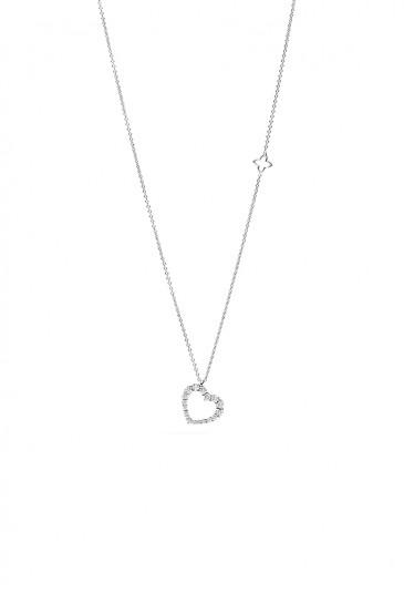 Anello Donna Trilogy Diamanti Naturali Oro Bianco Bibigì ANB6468B