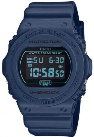 Casio G-Shock Blu Navy Nero DW-5700BBM-2ER