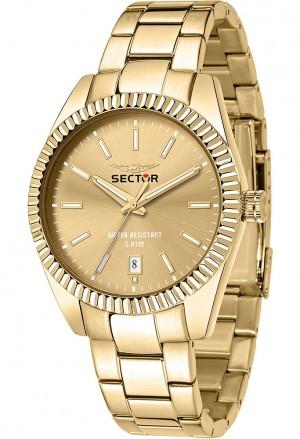 Orologio Sector Uomo Gold Solo Tempo R3253240026