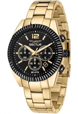Orologio Sector Uomo Gold Cronografo R3273640027