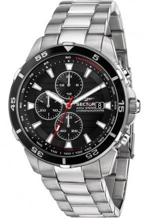 Orologio Sector Uomo Acciaio Cronografo R3273643003