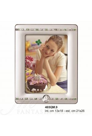 Cornice 18 Compleanno Argento 465QM.9