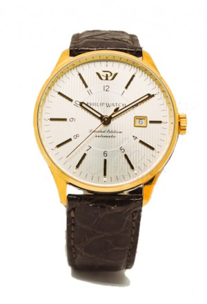 Orologio Uomo Oro 18kt Prestige Numerato 1/50 Automatico Philip Watch 1711