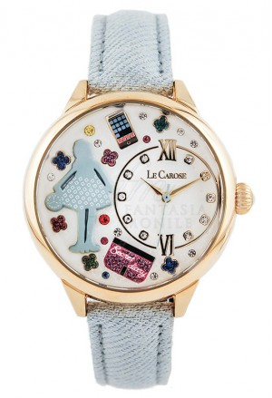 Orologio Donna Le Carose Workers Mestieri Teenager Pink Mood TBBMFFM