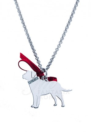 Collana Cane Labrador Argento 925% Dog Unoaerre 8346