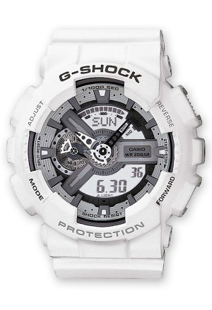 Orologio Unisex G-Shock Bianco Casio GA-110C-7AER