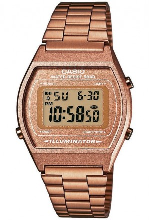 Orologio Unisex Acciaio Rosa Casio Vintage Collection B640WC-5ADF