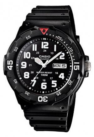 Orologio Uomo Aviator Silicone Casio Collection MRW-200H-1BVDF
