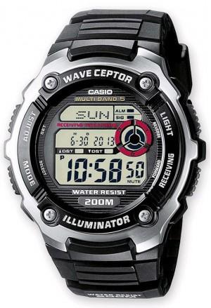 Orologio Casio Illuminator Cronometro Sport Nero WV-200E-1AVEF