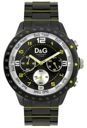 Orologio Uomo Oversize Chronografo Acciaio  Navajo D&G Dolce&Gabbana Time DW0193 2349