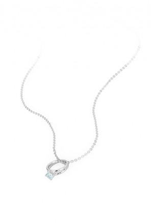 come ottenere acquista per il meglio acquista per genuino Collana Donna Promise Charm Anello Solitario Love Argento Brosway PR03