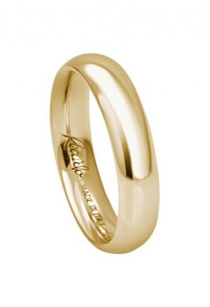 Fede Nuziale Recarlo Oro 18kt Giallo Matrimonio Wedding W14FL001/G