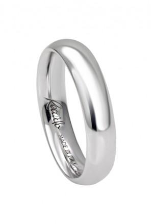 Fede Classica Oro 18kt Bianca Matrimonio Recarlo XE156/BX