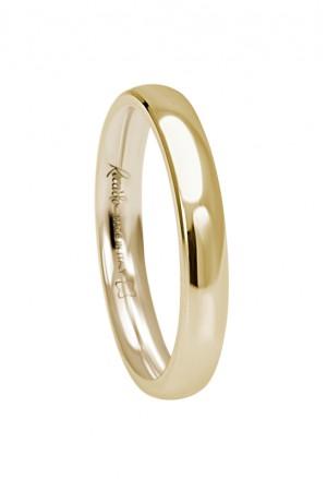 Fede Nuziale Recarlo Oro 18kt Giallo Matrimonio Wedding W14FD002/G