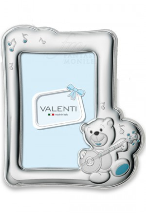 Cornice Portafoto Bimbo Argento Bilamina Valenti 71605/4C