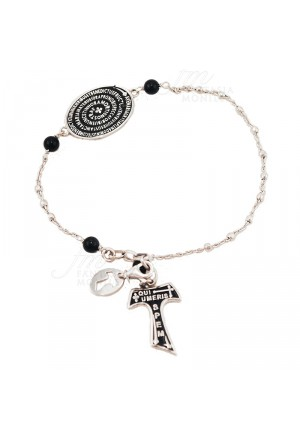 Bracciale Rosario Tau San Francesco Argento 925 Tau Collection FHBS3FM