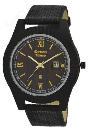 Orologio Legno Vegano Grande Wood Green Time ZW010D