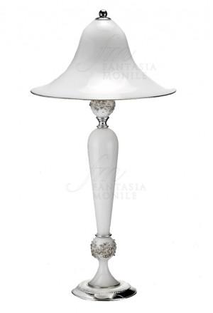 Lampada Vetro Soffiato Base Argento 925 Acca 456ET.1