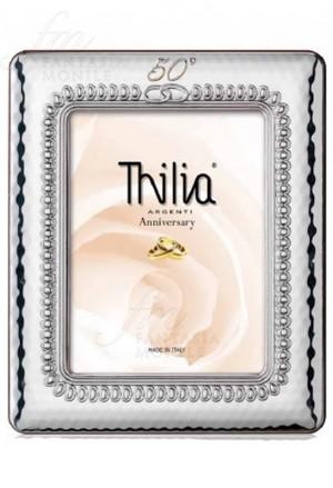 Cornice 50o Anniversario Argento Small Thilia 0427333